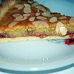recette tarte bakewell à la fraise