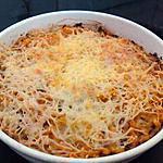 recette Pâte au thon gratinées à la tomate