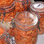 Stérilisations de carottes et panais