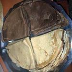 recette Pâtes à crêpes chocolat et vanille.
