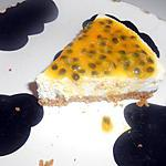 recette Cheesecake Passion....nément