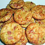 recette Bouchées soufflées au bacon