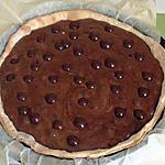 recette tarte mousseuse au chocolat