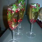 recette Cocktail champagne à la pêche.