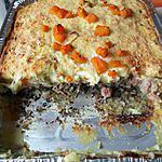 recette Hachis parmentier à la viande de pot au feu