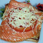recette croque -saumon
