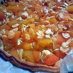 recette tarte mélina (abricot amande)