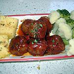 recette boulettes de veau à la tomate
