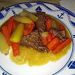 recette Boeuf aux deux carottes