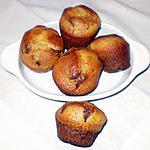 recette petits muffins,chocolat,citron et graines de pavot