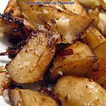 recette Pommes de terre à l'oignon
