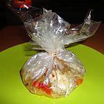 recette PAPILLOTES DE LOTTE A L'ORANGE ET AUX DEUX CORIANDRES