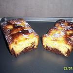 recette mon cake gourmand coco/ananas aux coeur coulant chocolat