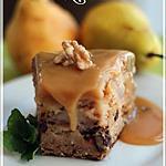 recette ~Gâteau aux poires, sauce au caramel~