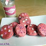 recette Oréo tout rose spécial Saint-Valentin