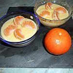 recette Crème a la clémentine