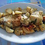 recette ROULE  DE CHOU  CHINOIS SAUCISSES ET POMMES DE TERRE