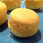 recette Macarons ganache à l'orange curd
