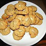 recette Petits biscuits aux amandes