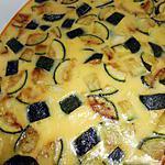 recette Courgette a la cancoillotte