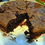 recette Moelleux chocolat-amandes sans farine