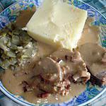 recette filet mignon  de porc à la bière et aux lardons