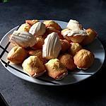recette Madeleines à la vanille, coque de chocolat blanc