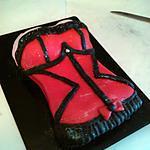 gâteau sexy bustier Victoria