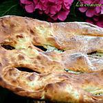 recette Fougasse aux fromages et romarin