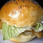 recette Burger façon filet-O-fish et potatos maison