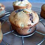 recette Muffins choco-poire