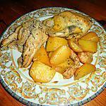 recette CANARD  en cocote et pomme de terre confites