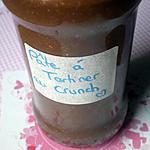 recette Pâte à tartiner au CRUNCH