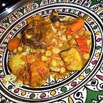 recette Couscous agneau et petits légumes
