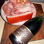 recette coq au champagne et girolles