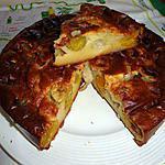 recette CLAFOUTIS  banane,mirabelles de MIJANE