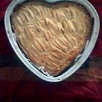 recette Tarte aux pommes mascarpone en forme de cœur!