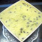 recette Gâteau de semoule aux raisins secs.