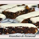 recette Friandises de l'Ecureuil