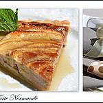 recette Tarte Normande aux pommes