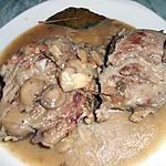 recette Joues de porc en sauce