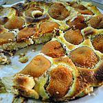 """recette Tarte aux abricots sans pâte (recette trouvée dans le blog """"PISTACHES-CO."""" Un grand merci!)"""