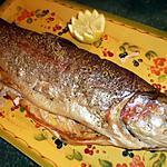 recette Truite saumonée au citron et thym