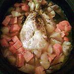 recette poulet au legume