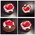 recette cheesecake au chocolat blanc et fraises sans cuisson
