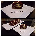 biscuits roulé Girafe au crème pâtissière
