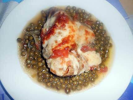 cosce di pollo gratinate (cuisses de poulet gratinéees) 430
