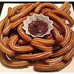 recette Churros espagnol maison c recette que j'ai trouvé sur le blog de cuisine ( mes inspirations culinaires)