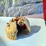 recette Muffins pistache/fraise-framboise