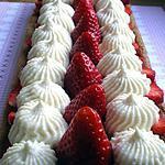 recette Tarte aux fraises revisitée